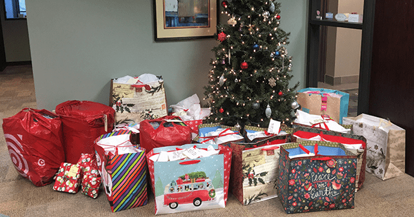 TeamSoft Collects Gifts for Sharing Wishes Families