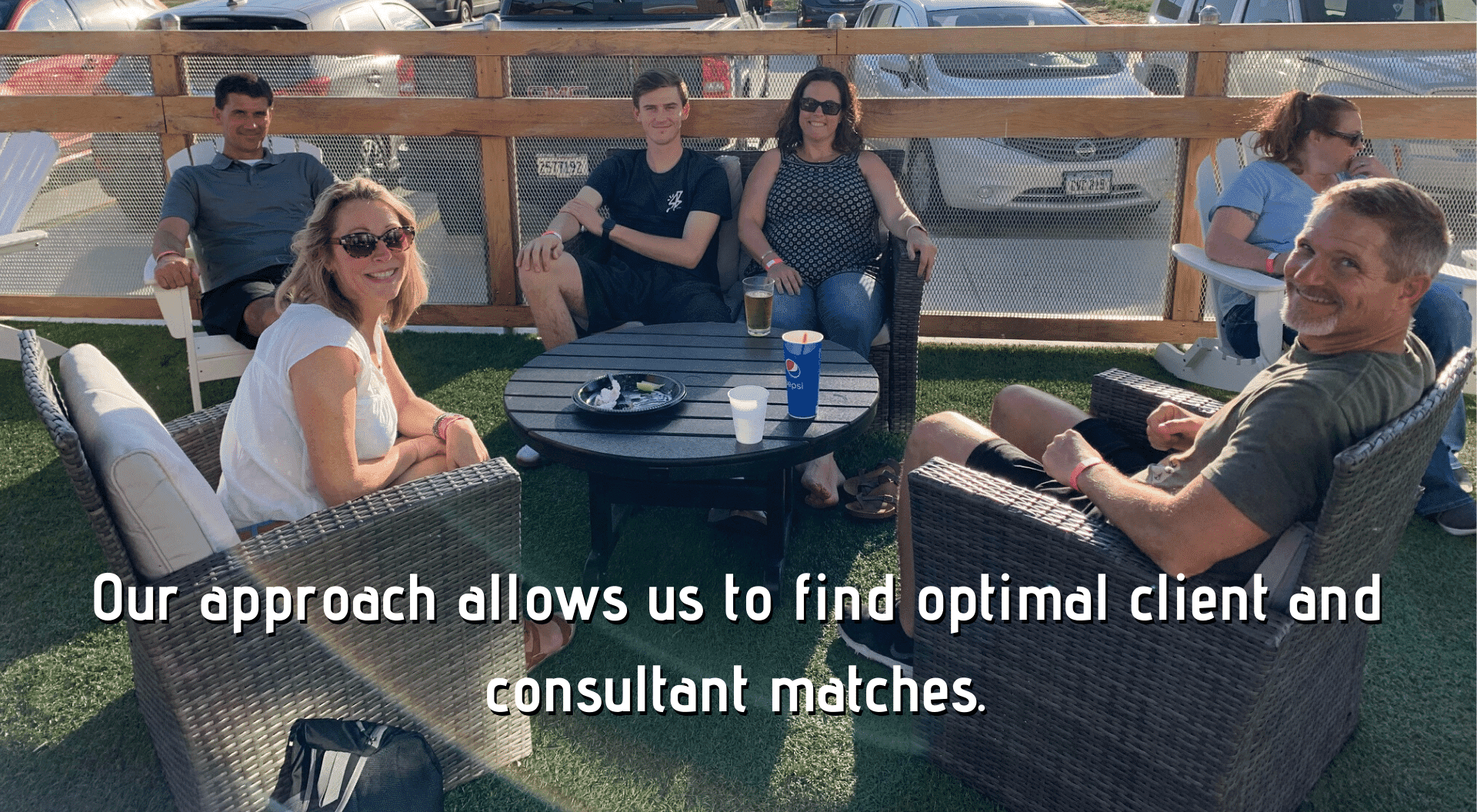Our approach allows us to find optimal client and consultant matches. 2019