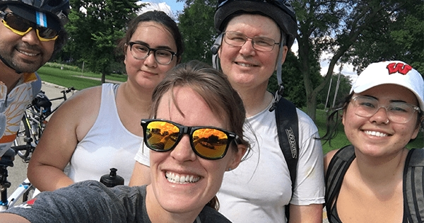 PsyclePaths Enjoy Monona Lake Loop Bike Ride