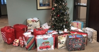 TeamSoft Collects Holiday Gifts for Sharing Wishes Families